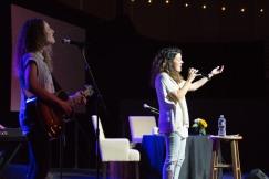 Christy Nockels leading worship